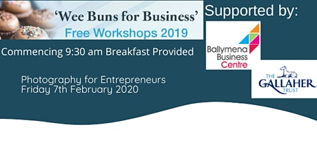 'Wee buns for business' Photography for Entrepreneurs tickets