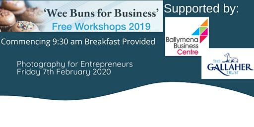 'Wee buns for business' Photography for Entrepreneurs