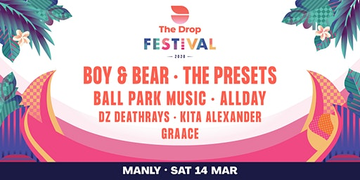The Drop Festival 2020  Manly