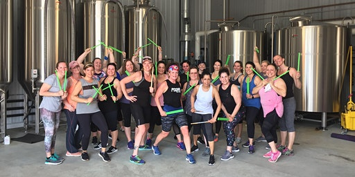 Peg's Pound & Pour at Glenmere Brewing | Cardio ROCKOUT. WORKOUT.
