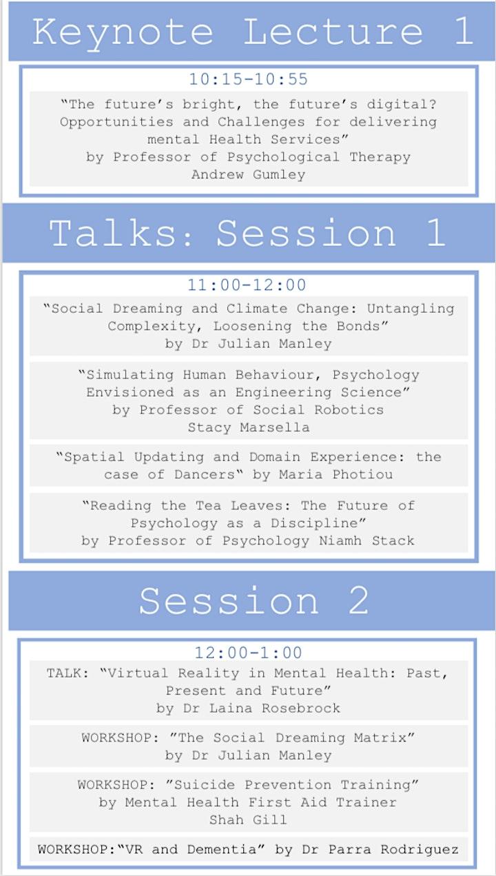 Glasgow University Future of Psychology Conference image