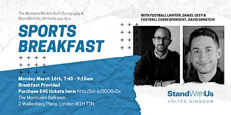 Sports Breakfast tickets
