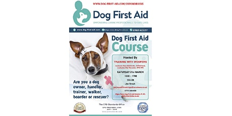 Dog First Aid tickets