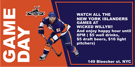 New York Islanders Games Watch Party!! tickets
