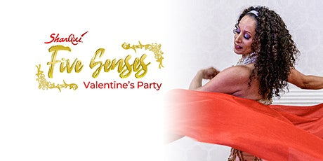 SharQui's Valentines Five Senses Party tickets