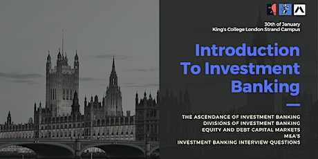 Introduction to Investment Banking tickets