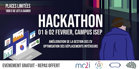 Hackathon étudiant Garage ISEP x mc2i billets