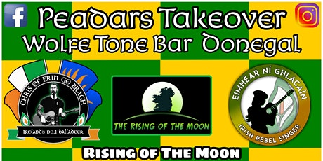 Peadars Takeover@Wolfe Tone Bar tickets