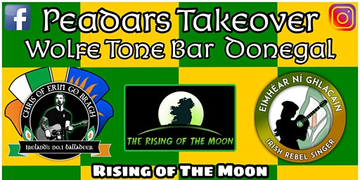 Peadars Takeover@Wolfe Tone Bar