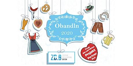 Obandln 2020 - Finde den perfekten Projekt Partner Tickets
