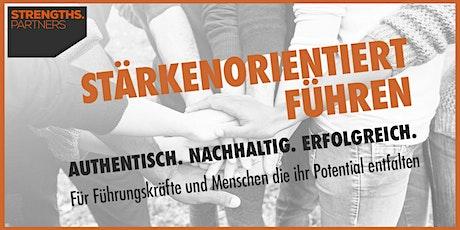 STÄRKENORIENTIERT FÜHREN – authentisch. nachhaltig. erfolgreich. Tickets