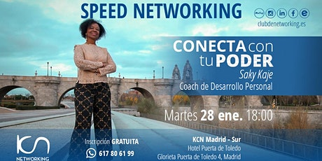 Conecta con tu PODER & Speed Networking entradas