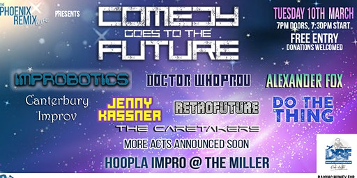 The Phoenix Remix Live Presents: Comedy Goes To The Future!