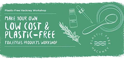 TOILETRIES MAKING WORKSHOP with Plastic Free Hackney