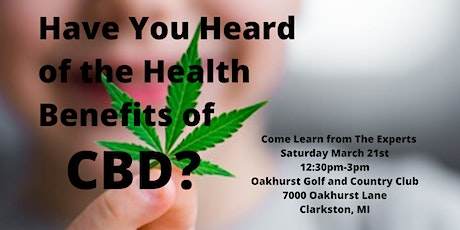 The Science and Business of CBD from Hemp--Healthy, Not High tickets