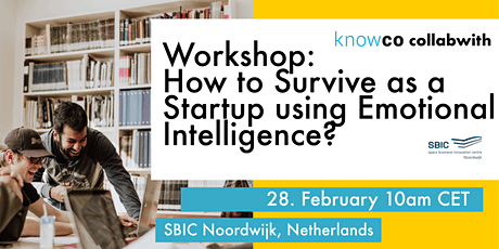WORKSHOP: How to Survive as a Startup using Emotional Intelligence? tickets
