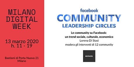 Facebook Community Leadership Circle Milano biglietti