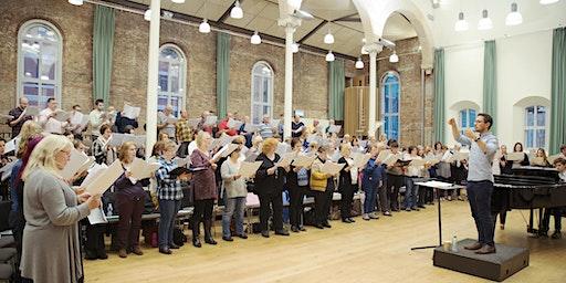 Hallé Choral Academy March Performance