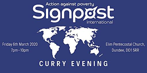 Signpost International Curry Evening