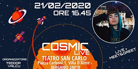 Daniel Cosmic LIVE biglietti