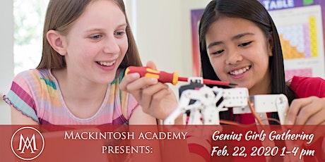 Genius Girls Gathering 2020: Girls in STEM Workshop and Panel tickets