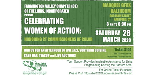 Farmington Valley Chapter (CT) Of The Links, Incorporated 2020 Fundraiser