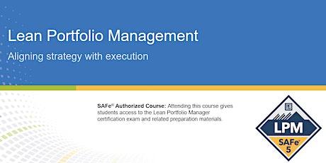 Lean Portfolio Management Certification Training in Montreal, Canada tickets