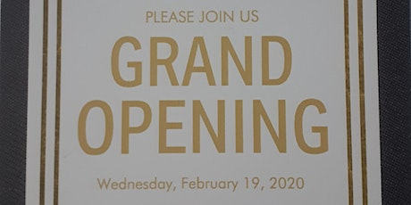 Grand Opening tickets