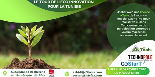 LE TOUR DE L'ECO INNOVATION POUR LA TUNISIE