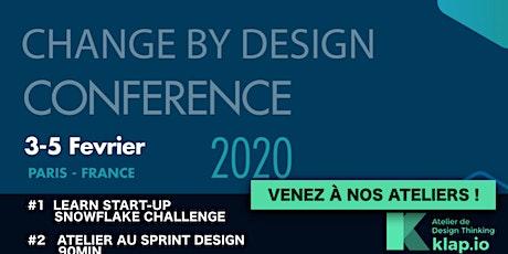 Change by Design Conférence organisée par Johnson _ Venez aux ateliers KLAP.IO billets
