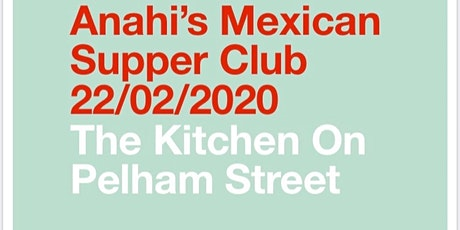 Mexican Supper Club tickets