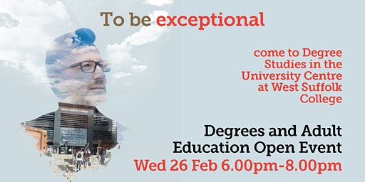 Thetford - Degree Studies & Adult Education Open Event