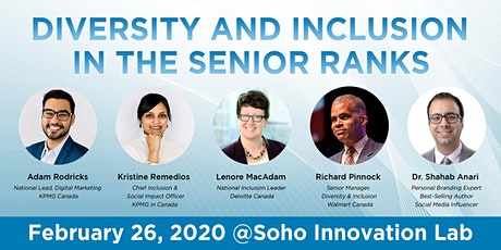 Diversity and Inclusion in the Senior Ranks tickets