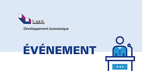 Salon Financement, Croissance et Exportation de Laval billets