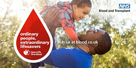 Save a Life Give Blood tickets