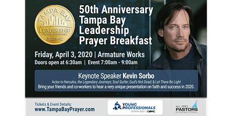 50th Anniversary of the Tampa Bay Leadership Prayer Breakfast tickets
