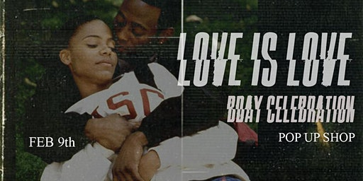 "Dreams of Triumph Presents ""Love is Love"" Pop Up Shop/ BDay Celebration"