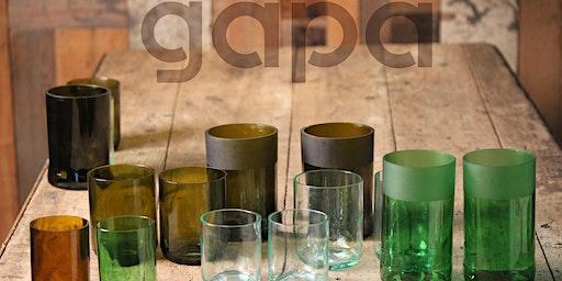Al Mercato laboratorio di riciclo e creazione in vetro con GAPA