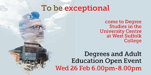 Haverhill - Degree Studies & Adult Education Open Event