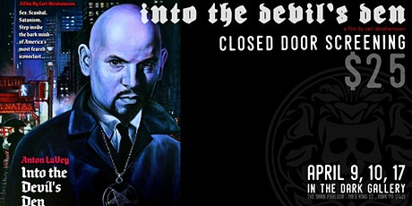 Anton LaVey - Into the Devil's Den tickets