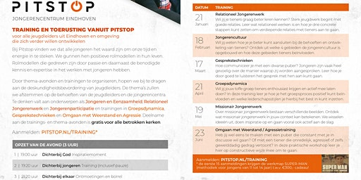 Jeugdwerkers Training @ Pitstop: 'Jongerencultuur'