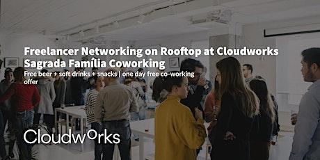 Freelancer Networking on Rooftop at Cloudworks Sagrada Família entradas