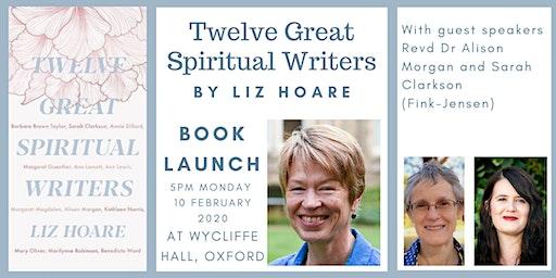 Twelve Great Spiritual Writers - Book launch