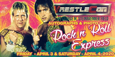 Rock 'n' Roll Express at WrestleCon 2020 - Tampa FL tickets