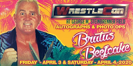 Brutus Beefcake at WrestleCon 2020 - Tampa FL tickets