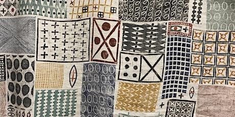 block printed textiles workshop 25th April 2020 tickets