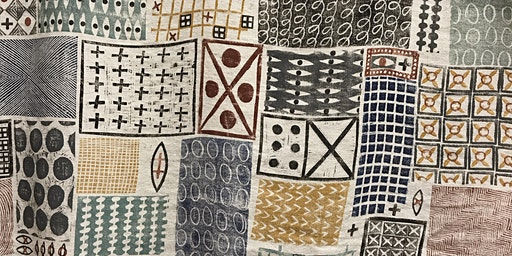 block printed textiles workshop 25th April 2020
