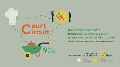 Court-circuit | Journée entre producteurs, restaurateurs et institutions billets