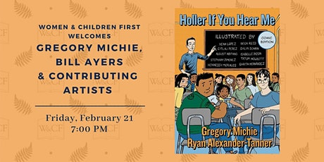 Author Reading: HOLLER IF YOU HEAR ME (Comic Edition) by Greg Michie tickets