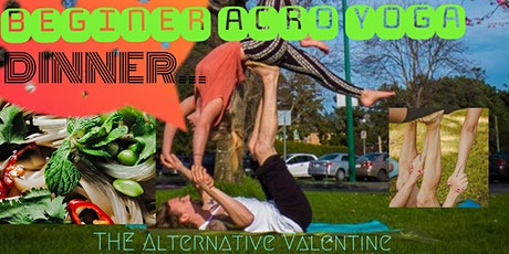 Alternative Valentine ACRO YOGA and Dinner Vietnamese Inspired tickets